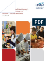 Ofsted Annual Report 09-10 - Full Report