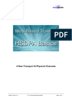 4. HSDPA New Transport & Physical Channels