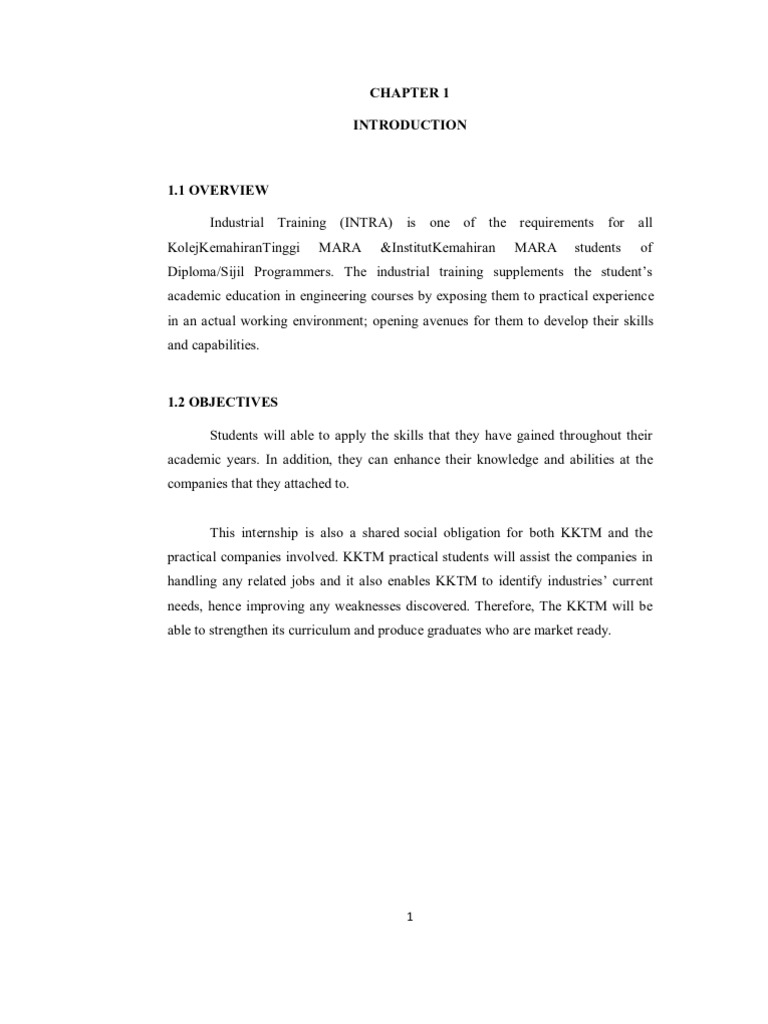 acknowledgement for internship report pdf