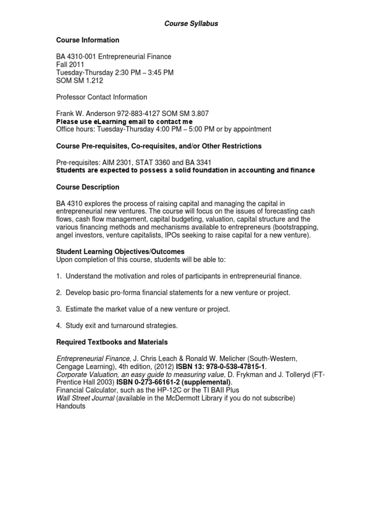 syllabus 4310 1 course syllabus mae 4310 – content and methods of teaching elementary mathematics florida international university spring 2013 instructor.