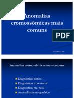 Anomalias Cromossomicas Mais Comuns