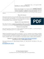 Pierre Fermat Contest