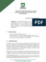 CAMPOS BARRANZUELA Edhín  PROBLEMAS DE APLICACION DEL NCPP A NIVEL DE JUZGAMIENTO