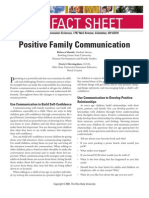 Positive Family Communication