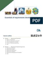 MOD 1 ETI Essentials of Requirement Management CSlides RR 08082009
