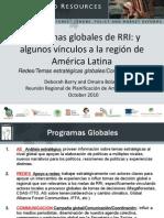 All Presentations - Bogota LA Planning Meeting