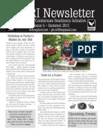 PHCRI Newsletter, Summer 2011