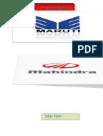 Inter Firm Comparison