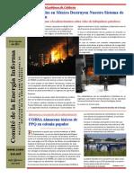 Comité de Energía Informa No. 115 Agol 15-11 -Parte de guerra en refinación