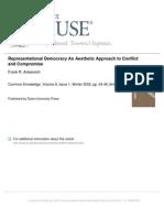 Ankersmit - Representational Democracy