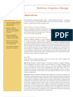 Workforce Integration Manager Datasheet