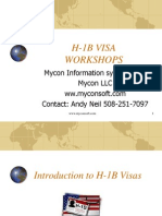Myconsoft H1b Training