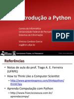 If969 - Introdução a Python I