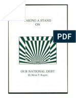 Taking a Stand on Our National Debt