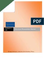 Dr Reddy's Lab Strategic Management