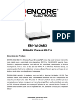 ENHWI-2AN3 Specification Sheet PT100802