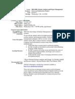UT Dallas Syllabus for mis6308.501.11f taught by Srinivasan Raghunathan (sraghu)