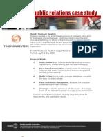 Thomson Reuters Case Study
