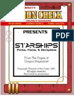 Action Check Starships