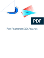 3D Fire Analysis