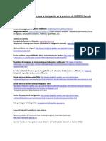 Paginas Web - Colombia- Inmigración a Québec-04-04-2011
