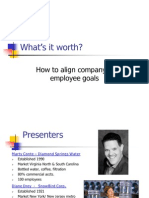 Aligning Company Employee Goals Through Compensation v4