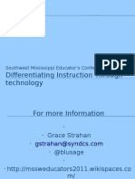 Differentiating Instruction Through Technology