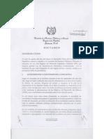 Dictamen Favorable, Inciativa de Ley 4076 (Ley de Transferencias Monetarias Condicionadas)