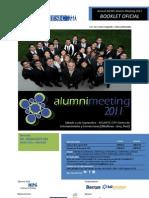 Alumni Meeting 2011 Booklet 08.08