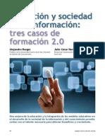 Educación y sociedad de la información