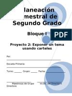 2do Grado - Bloque I - Proyecto 2