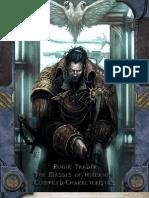 Rogue Trader Minor NPC Compiled Stats