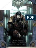 Rogue Trader Minor NPC Compiled Stats