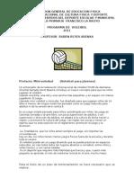 PROGRAMA DE VOLEIBOL 2011[1]