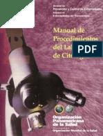 Manual de procedimientos de laboratorio de citología