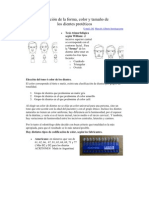 Selección Dientes Proteicos