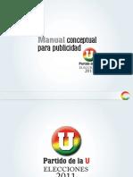 Manual de Publicidad Partido de La U