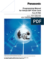 Programming Manual for SIP