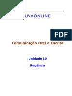 10 - Regência