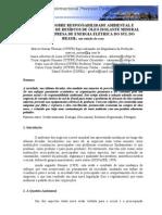 Artigo óleo isolante dos transformadores