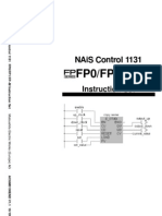 Nais Control 1131 FP0-FP1-FPM Instruction Set
