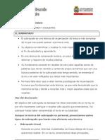 TÉCNICAS DE ESTUDIO - El subrayado
