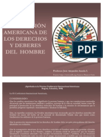 JOSE ALEJANDRO ARZOLA ISAAC, DECLARACIÓN AMERICANA DE LOS DERECHOS Y DEBERES DEL  HOMBRE