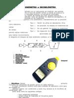 Sonometro-Decibelimetro