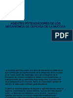 Agentes Potenciadores de Los Mecanismos de Defensa De