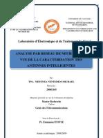 Analyse Par Reseaux de Neurones