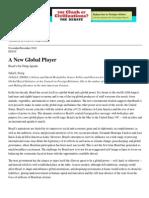 Sweig - A New Global Player