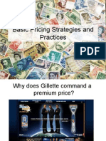 Basic Pricing Strategies and Practices