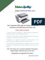 Dicas Para Teste Hp 1510
