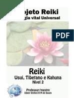Projeto Reiki - Energia Vital Universal (Nível 2)